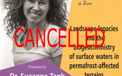 Cancelled: Guest Lecture: Dr. Suzanne Tank, Friday March 13th @2pm, Wilfrid Laurier University — Paul Martin Centre