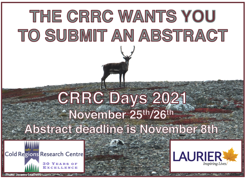 EARLY CALL FOR REGISTRATION – CRRC DAYS 2021
